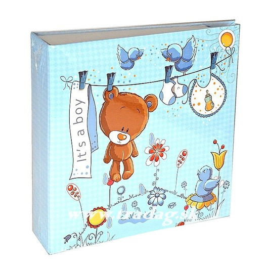 SWEET TEDDY BLUE ALBUM  YO100  10x15