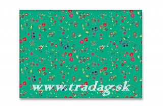 Baliaci papier Fruits green 50x70cm