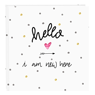 HELLO I AM NEW HERE ALBUM P60st.  30x31