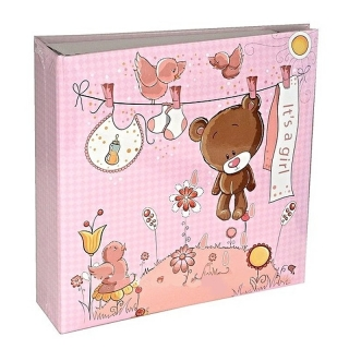 SWEET TEDDY PINK ALBUM  YO100  10x15